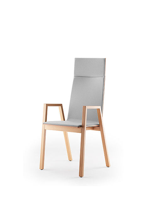 PAN | high-back chair