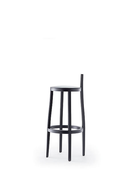 li-lith barstool | varnished