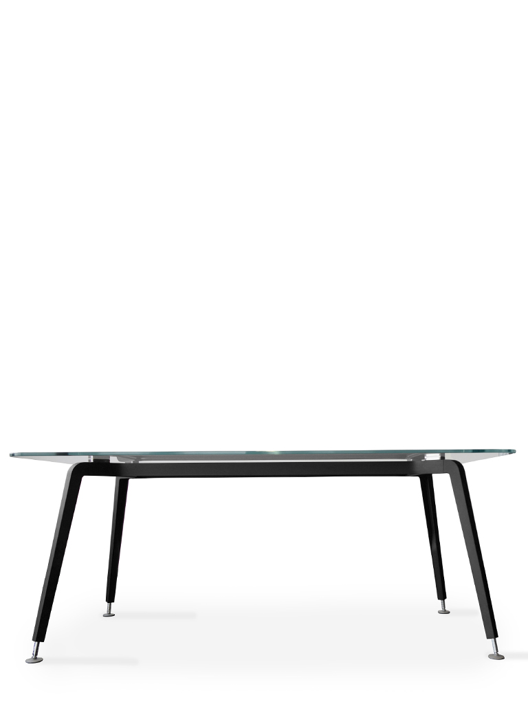 CQ table.co | Daniel Korb | Conferencing table | Gestell schwarz