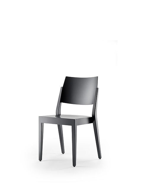 Kollektion.58 | Contract Chair | schwarz decklackiert