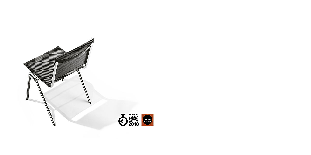 Product BLAQ chair by Design Ballendat