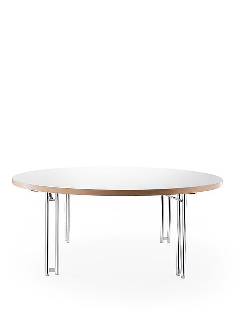 delta 158 | round folding table