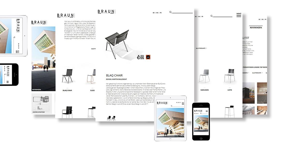 Modern übersichtlich Sicher Braun Lockenhaus Launcht Neue Website