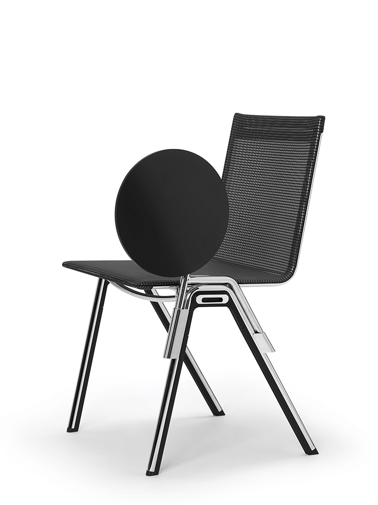 BLAQ chair | writing tablet