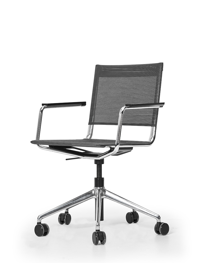 BLAQ Office Chair | geteiltes Netz | Armlehne