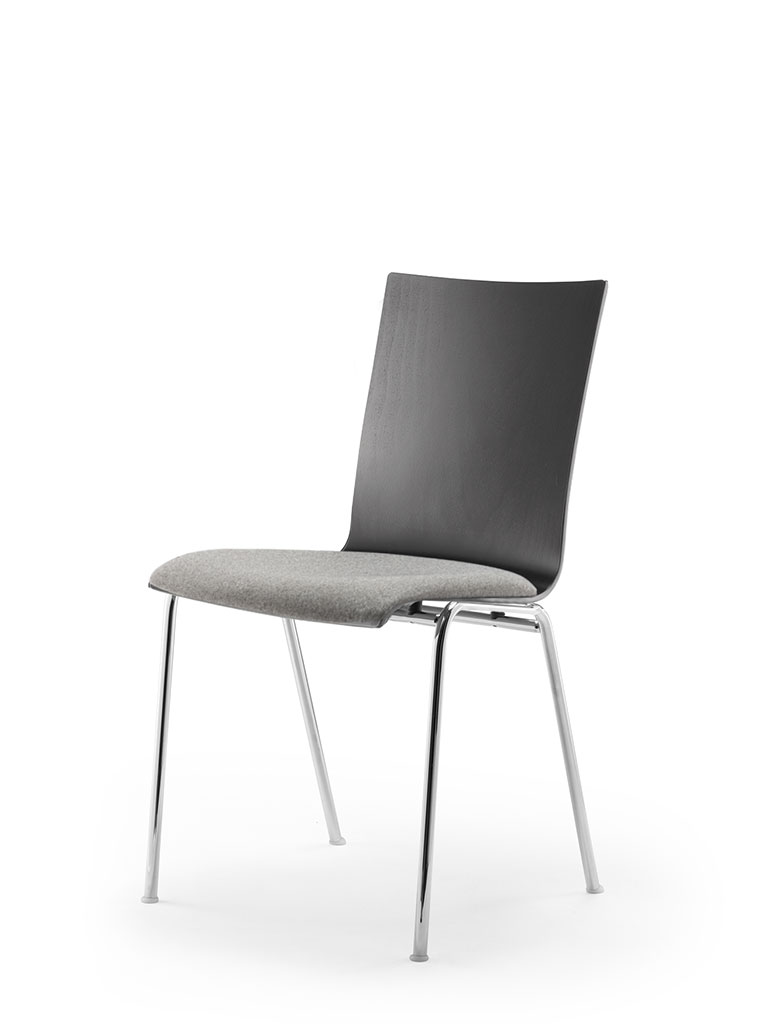 atlanta 50 | steel tube chair | four-legged chair | shell 79 | upholstered seat