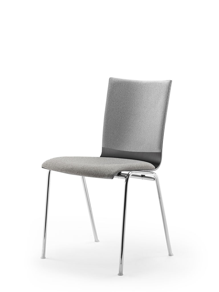 atlanta 50 | steel tube chair | four-legged chair | shell 79 | upholstered seat & backrest
