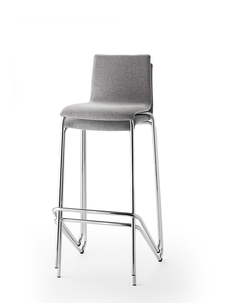 logochair | tabouret de bar | empilage