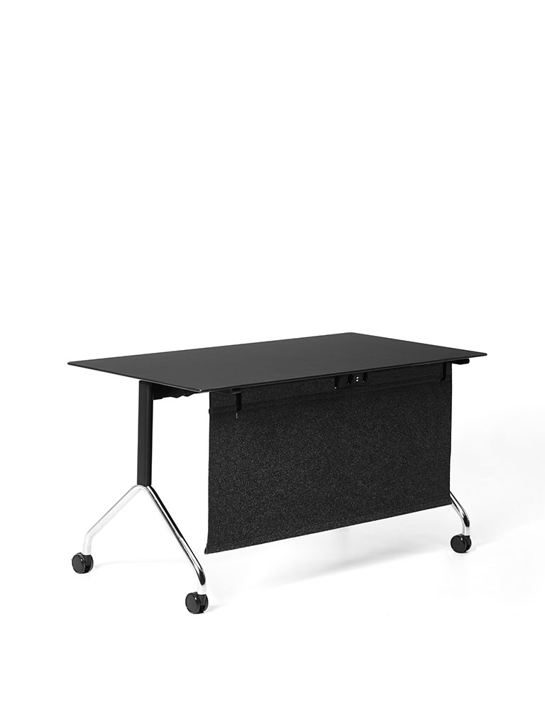 FX table | Staffeltisch | Flip-Top Table | Klapptisch | mit Sichtblende