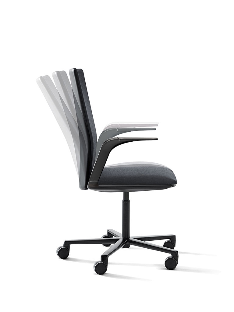 Kinesit by Arper | office chair | functionality